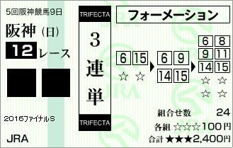 20161225・阪神12R 2016ファイナルステークス☆3連単.jpg